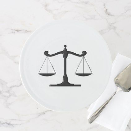 Scales of Justice Cake Stand | Zazzle.com | Cake, Plates, Diy