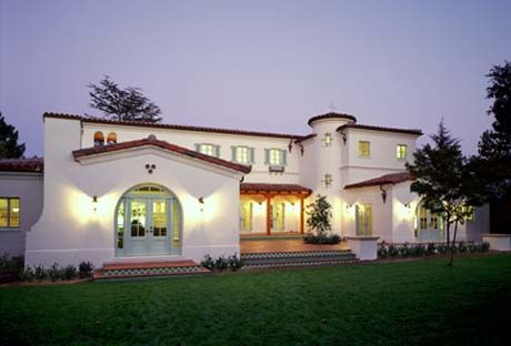 Spanish Architecture Homes Style Home Design In Palo Alto By Wda Architects 1 Spanish Style