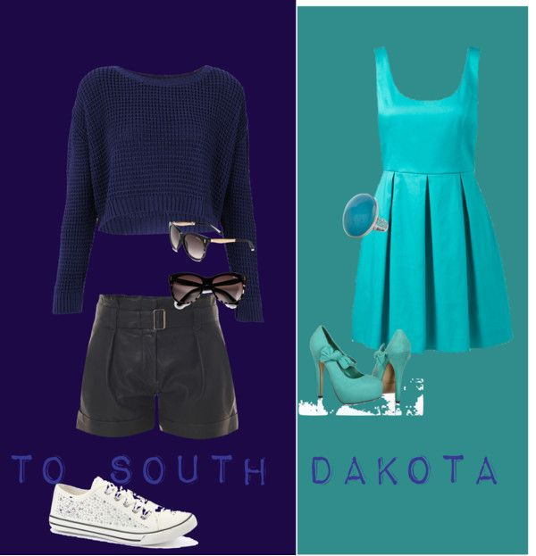 """South Dakota"" by pinkybow ❤ liked on Polyvore"