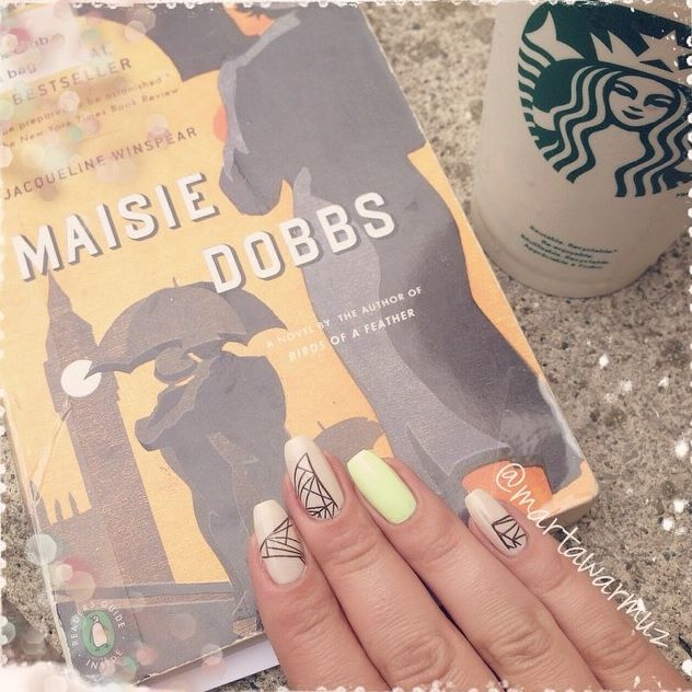 Nail art and book of the day. What do your nails look like? Art ...