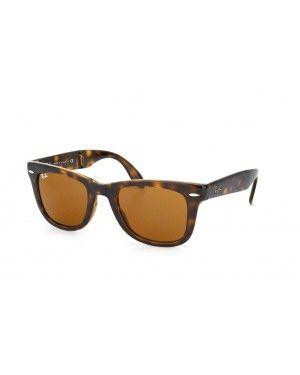 e7deafef5662d8 Ray-Ban折叠旅行者RB 4105 710光哈瓦那rayban wayfarer lunettes pas cher