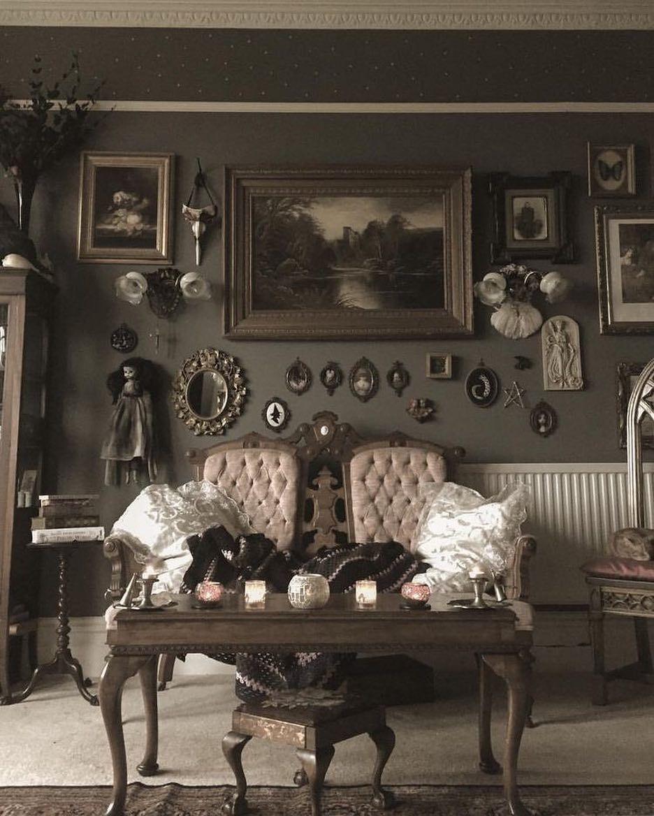Goth Goals Gothic Home Decor Gothic Living Rooms Decor