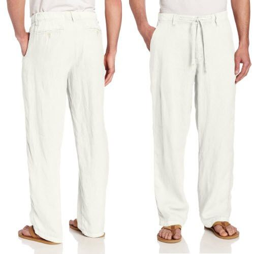 mens-white-linen-beach-pants.jpg 498×500 pixels | Cool Stuff ...