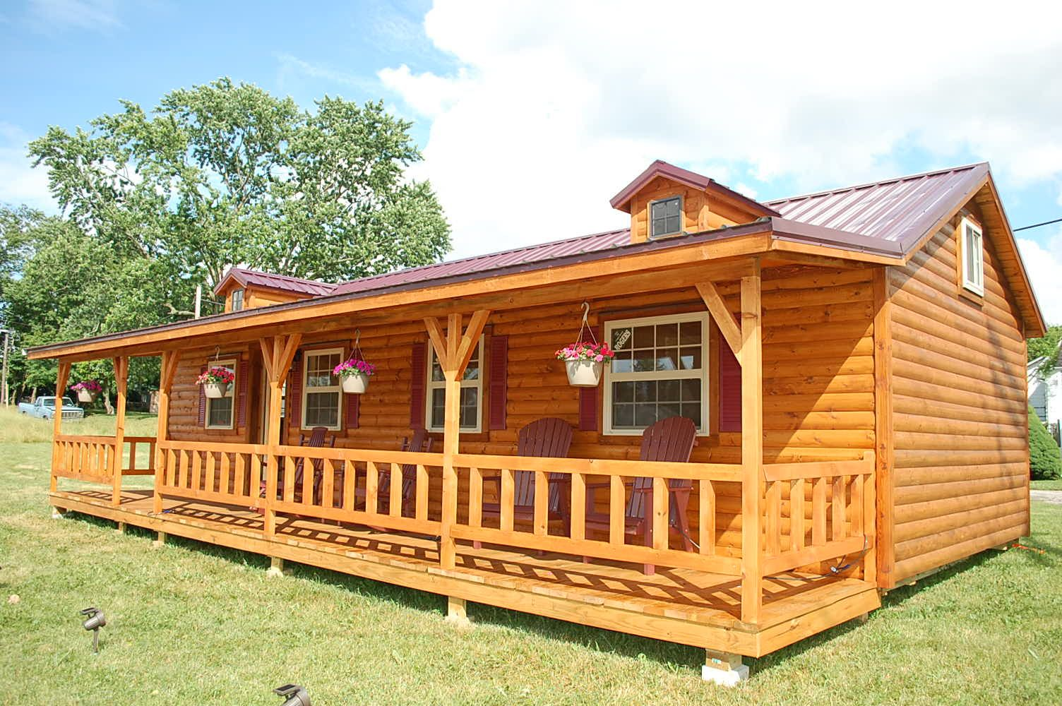 Attrayant House · Small Log Cabin Kits Texas ...
