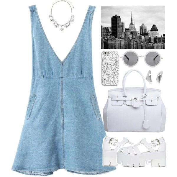 Untitled #3504 by london-wanderlust on Polyvore featuring Jeffrey Campbell, Dorothy Perkins, Karolina Bik Jewelry, INDIE HAIR and The Row