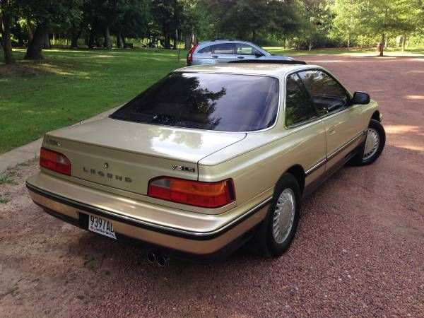 79k Mile 5 Speed 1988 Acura Legend Ls Coupe Acura Legend Acura Coupe