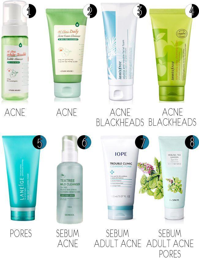 Best Korean Skincare Prods For Combo Sensitive Problematic Skin Skin Cleanser Products Skincare For Oily Skin Korean Skincare