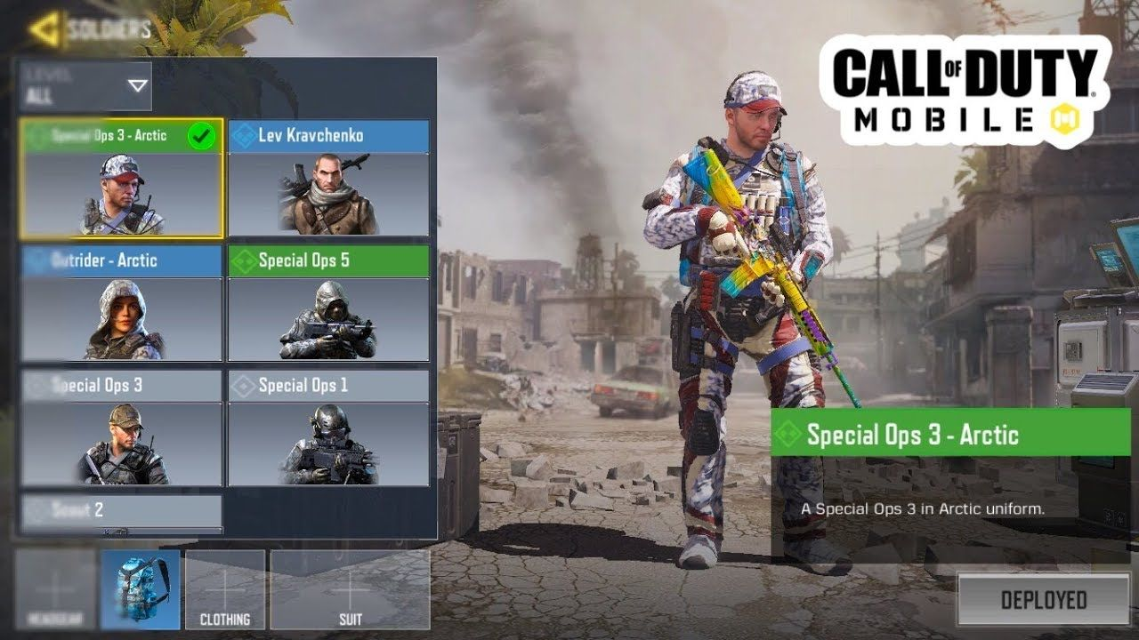 All My Solider Skins In Call Of Duty Mobile Youtube In 2020