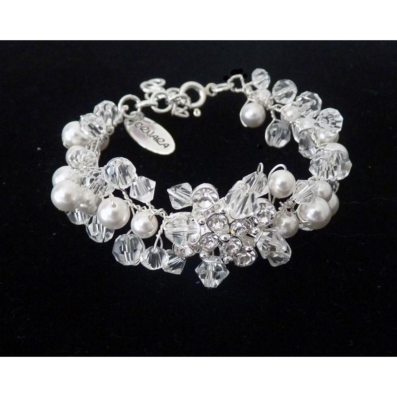Brautschmuck armband perlen Ornara ® Design Brautschmuck Armband | Brautschmuck | Pinterest ...