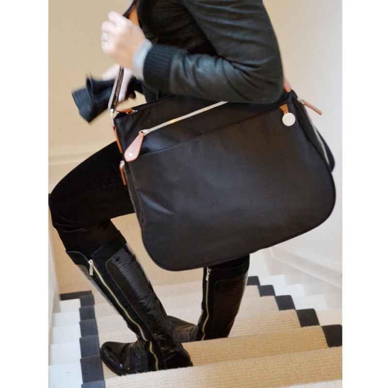 e99082948a148 Shop online for PacaPod Portland Nappy Bag - Black | The Baby Closet  Australia