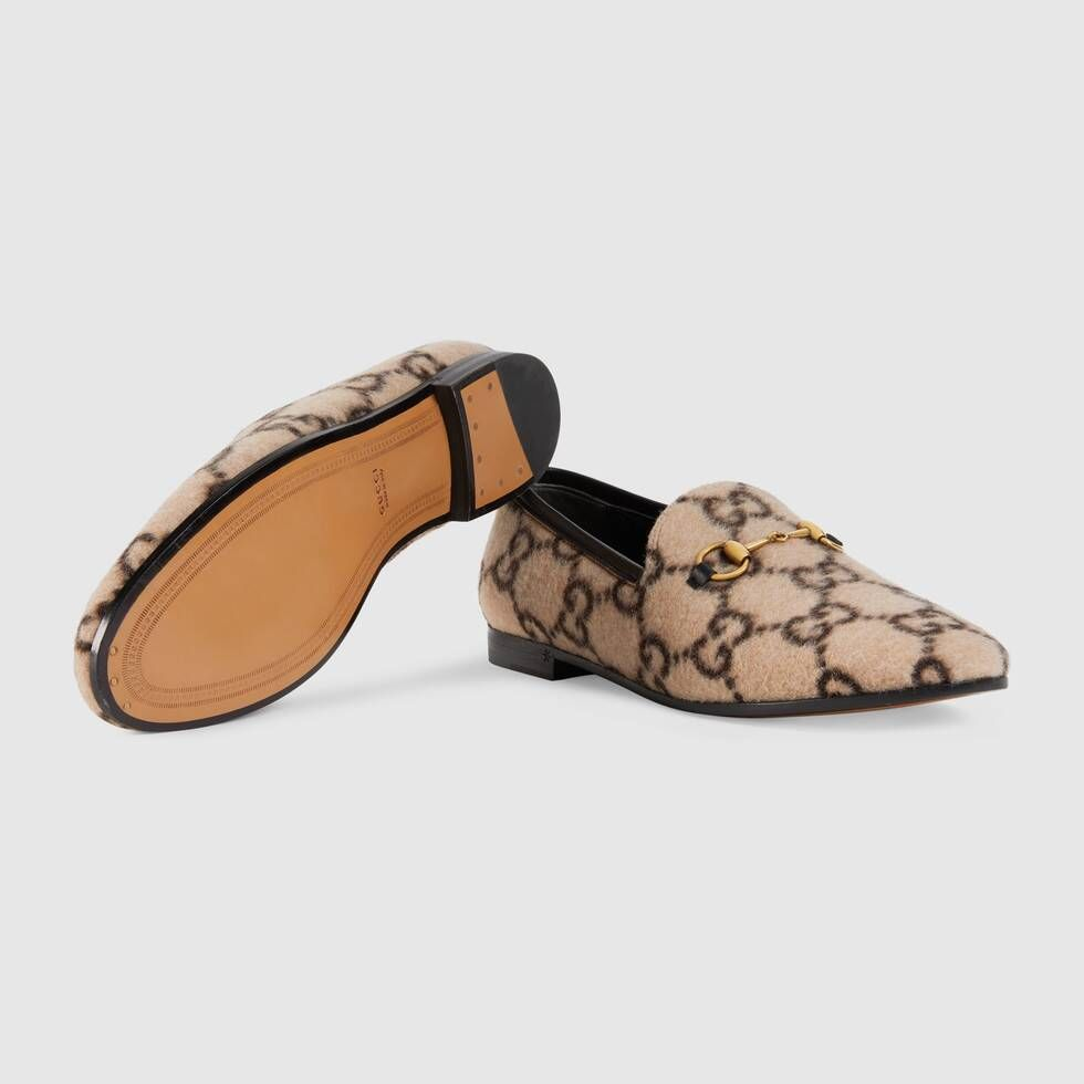 Gucci Jordaan GG wool loafer