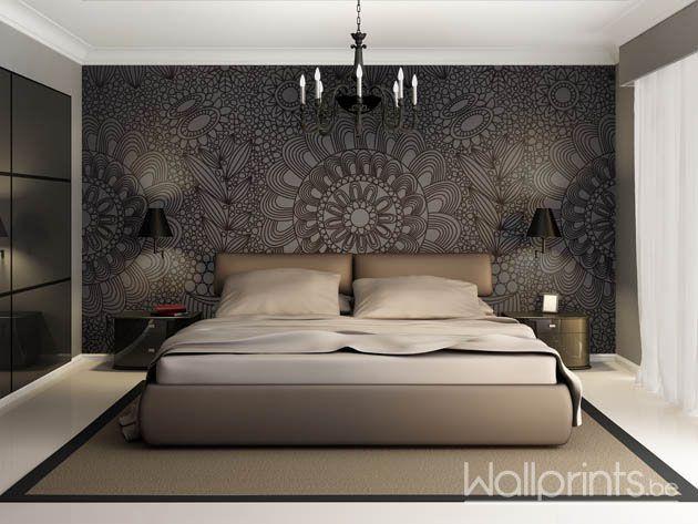 Modern Slaapkamer Behang : Luxe slaapkamers zelfklevend fotobehang voor jouw slaapkamer