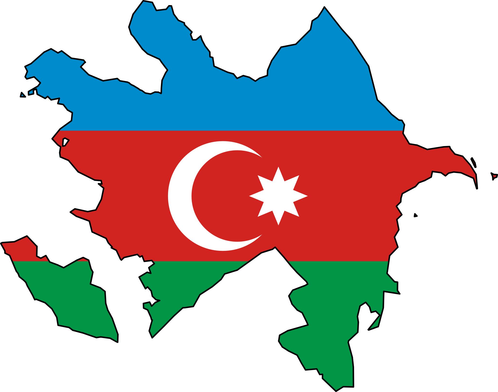 Azerbaijan Flag Map Azerbaijan Flag Azerbaijan Asia Map