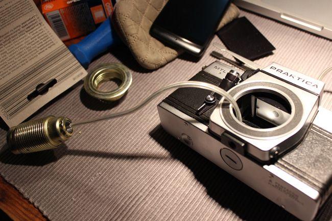 Wie Aus Einer Alten Kamera Eine Lampe Wird Meinekleinewohnung De