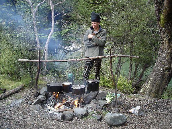 Cowboy Campfire Cooking Gear