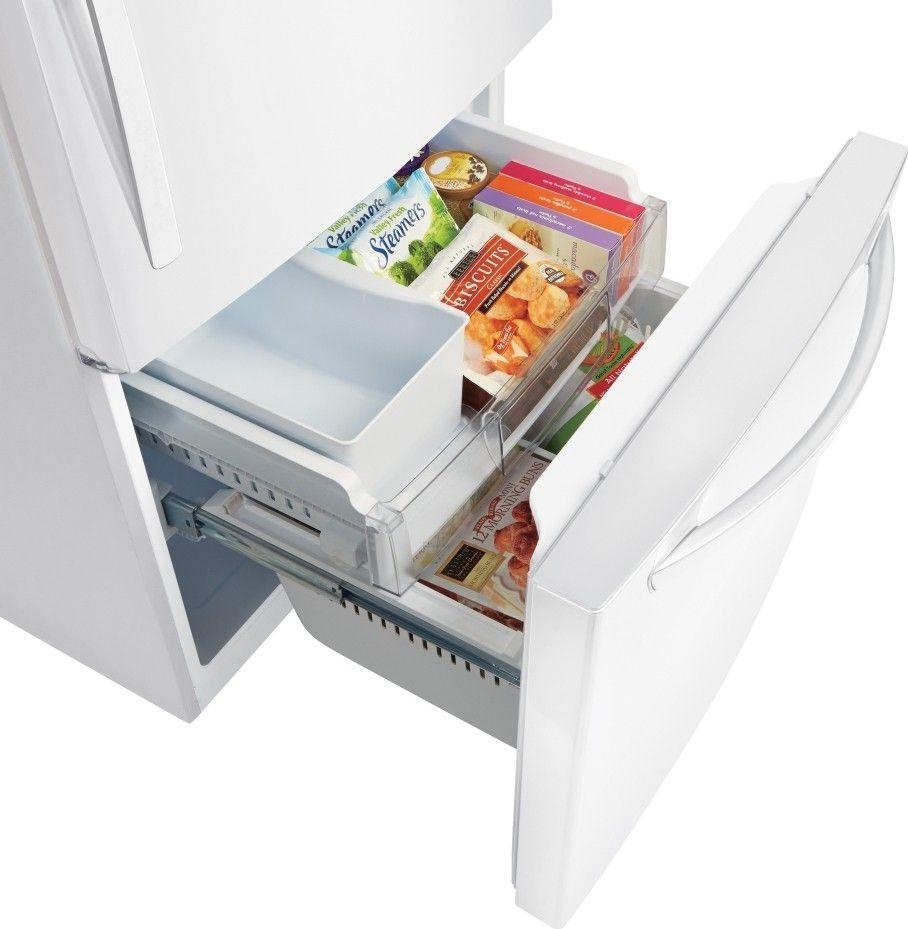kitchenaid bottom freezer refrigerator leaking water