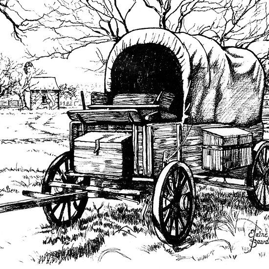 Chuck Wagon On The Johnson Settlement Texas President Johnson S