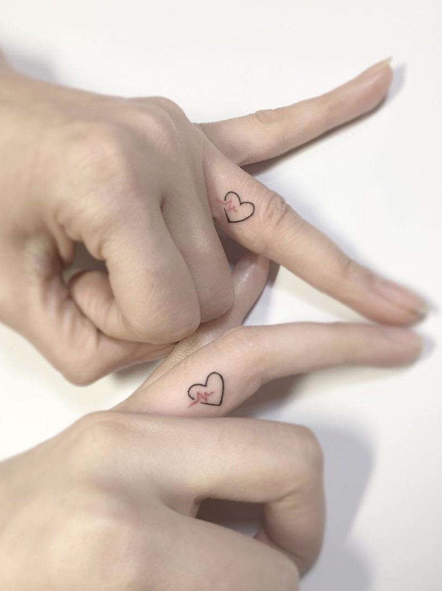 Couple tattoos you won't regret   Finger tattoos for couples ...