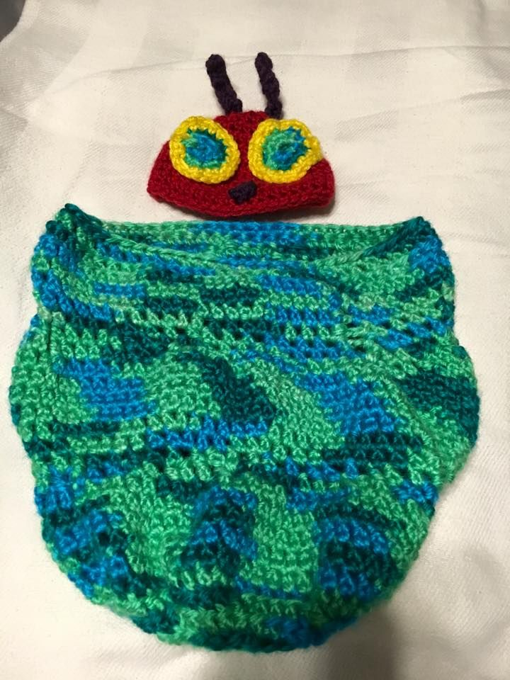 The Very Hungry Caterpillar Inspired Baby Cocoon Wrap Your Newborn