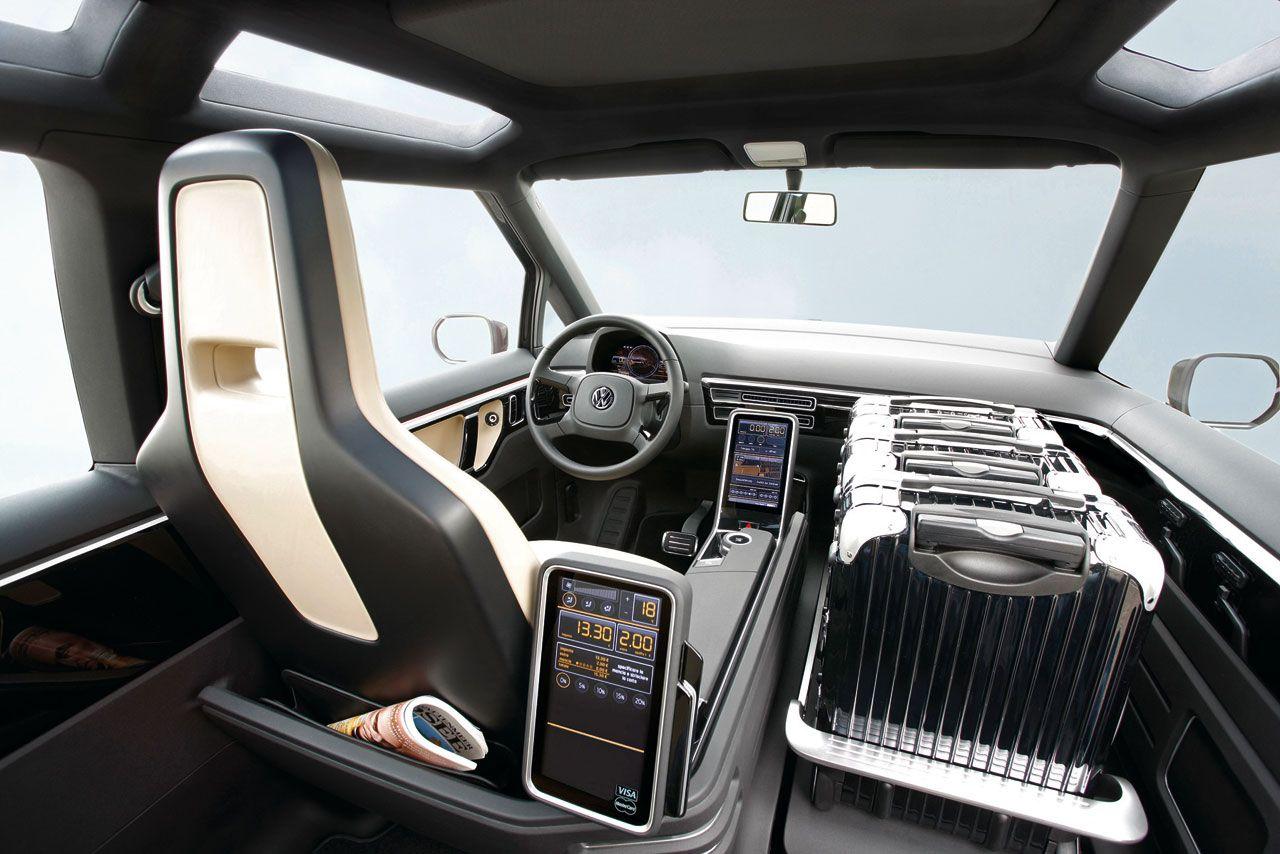 Vw Berlin Taxi Concept Interior Concept Cars