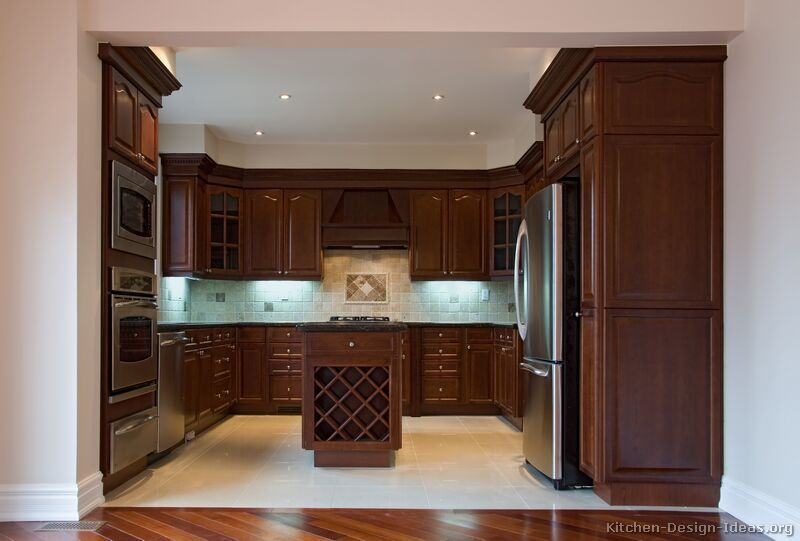 Kitchen Color Schemes With Cherry Cabinets Try Them Out Kitchen Color Schemes W Dark Wood Kitchen Cabinets Cherry Cabinets Kitchen Solid Wood Kitchen Cabinets