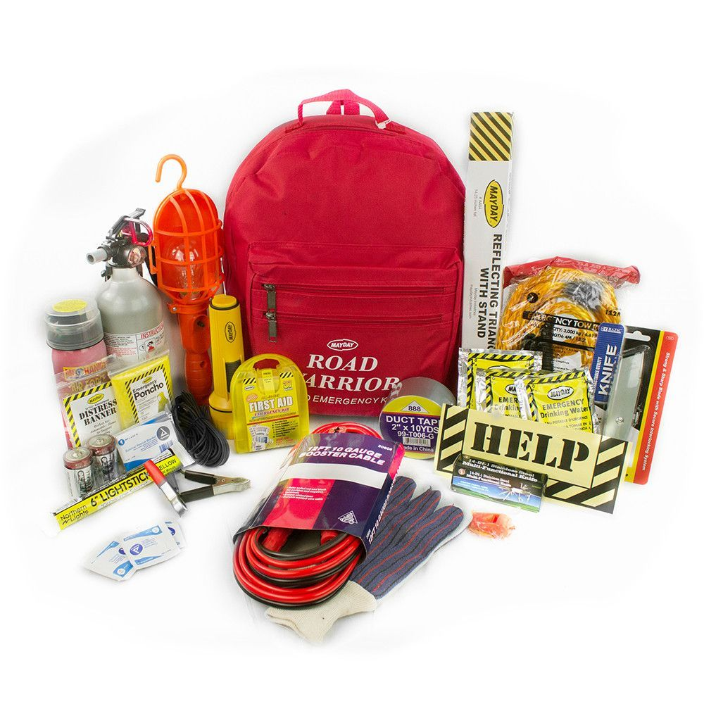 Mayday Urban Road Warrior Car Emergency Preparedness Kit