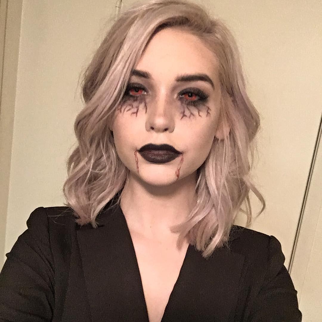 by makeupbymandy24 Vampire makeup halloween, Halloween