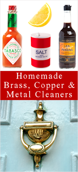 How To Clean Brass, Copper & More: {DIY Methods}