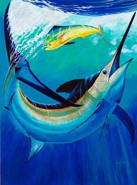 2011 Marlin Art Gallery Guy Harvey Art Sea Life Art Fish Art