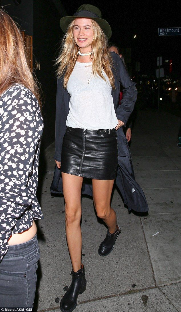 behati prinsloo cuts a leggy figure and goes grunge on