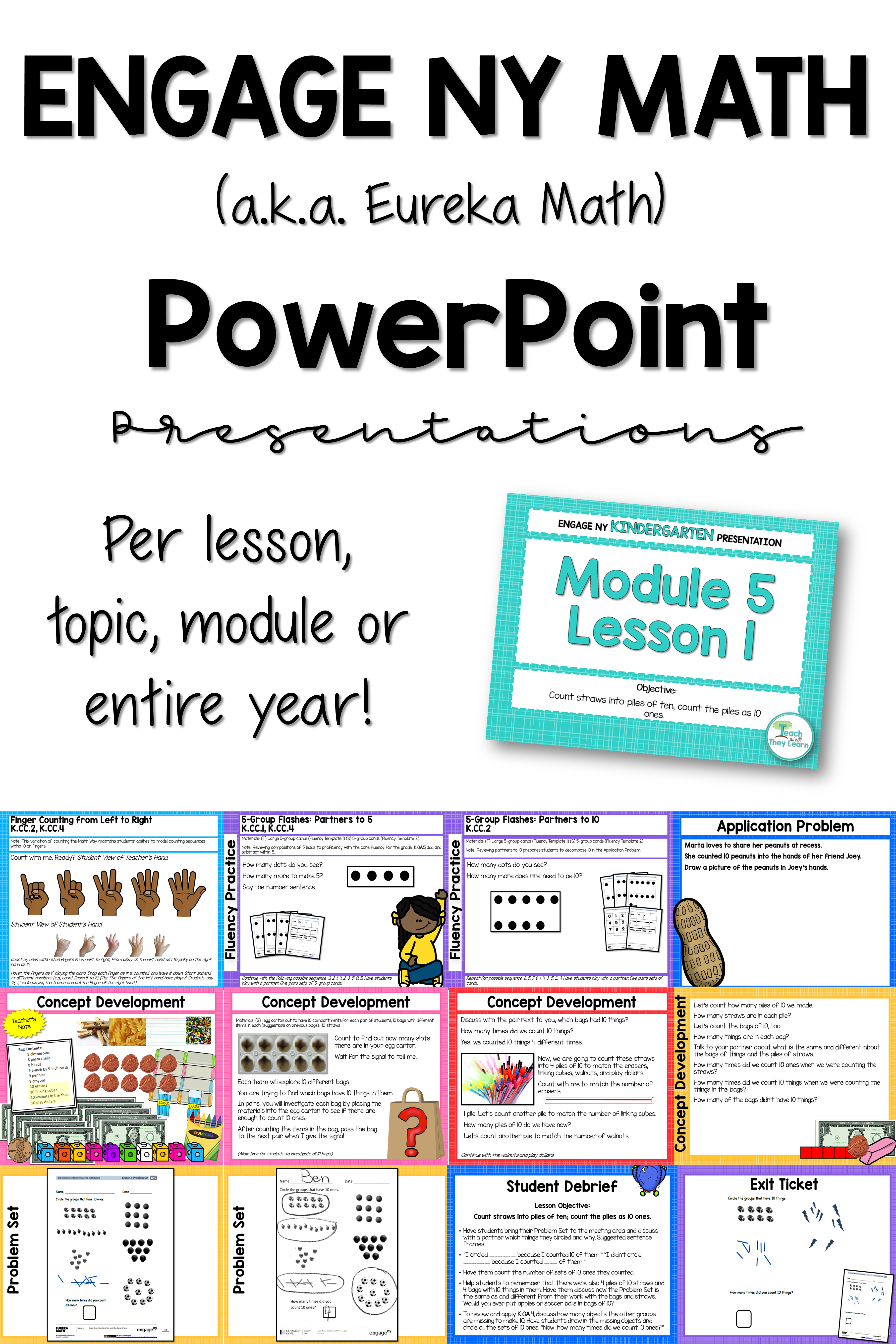 Engage Ny Eureka Math Powerpoint Presentations To Teach