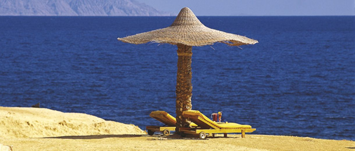 Escape to The Ritz-Carlton, Sharm El Sheikh, Egypt and discover an island for two where the mountains meet the sea.