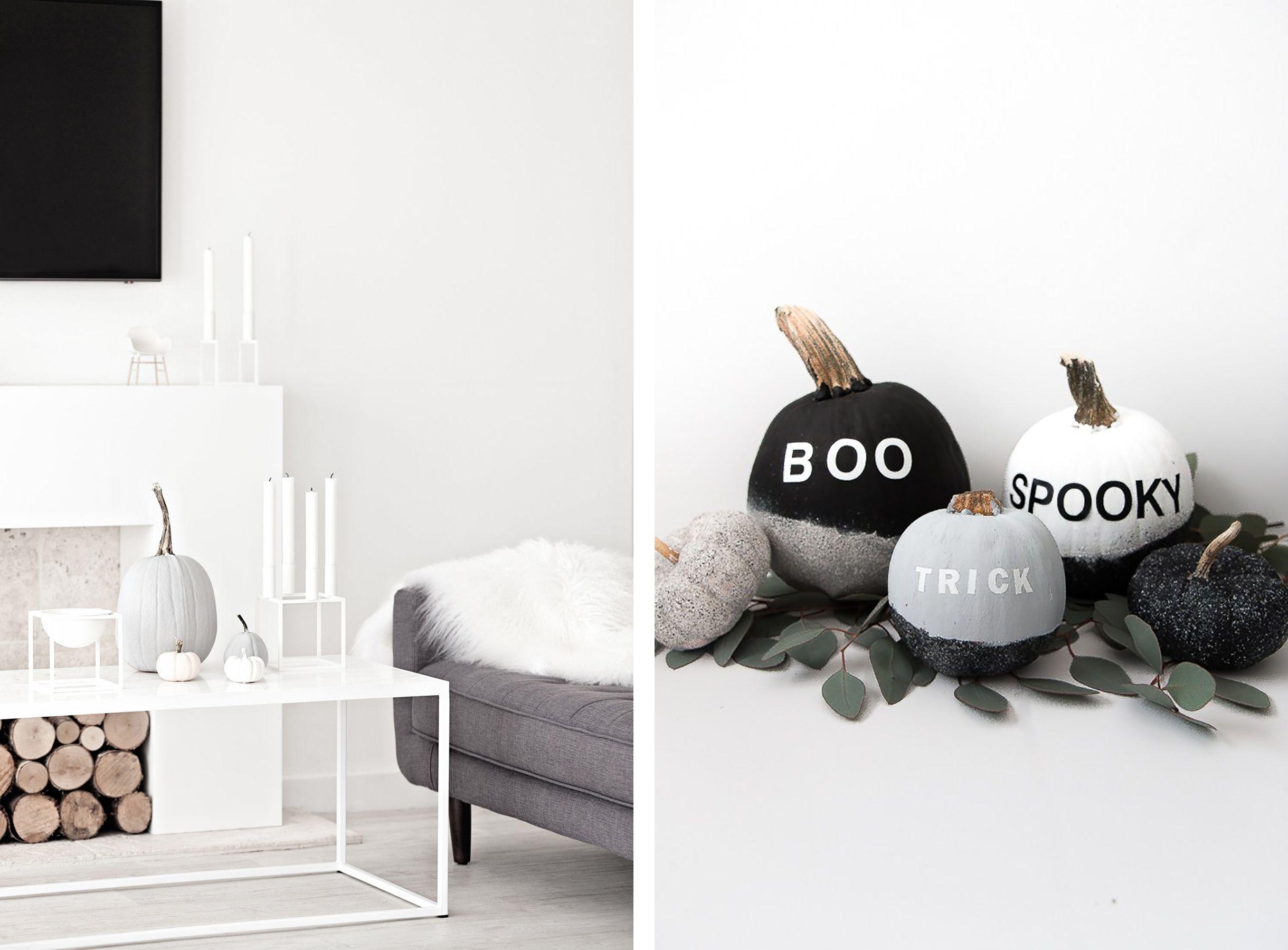 How To Get That Modern Scandinavian Halloween Look Minimalist