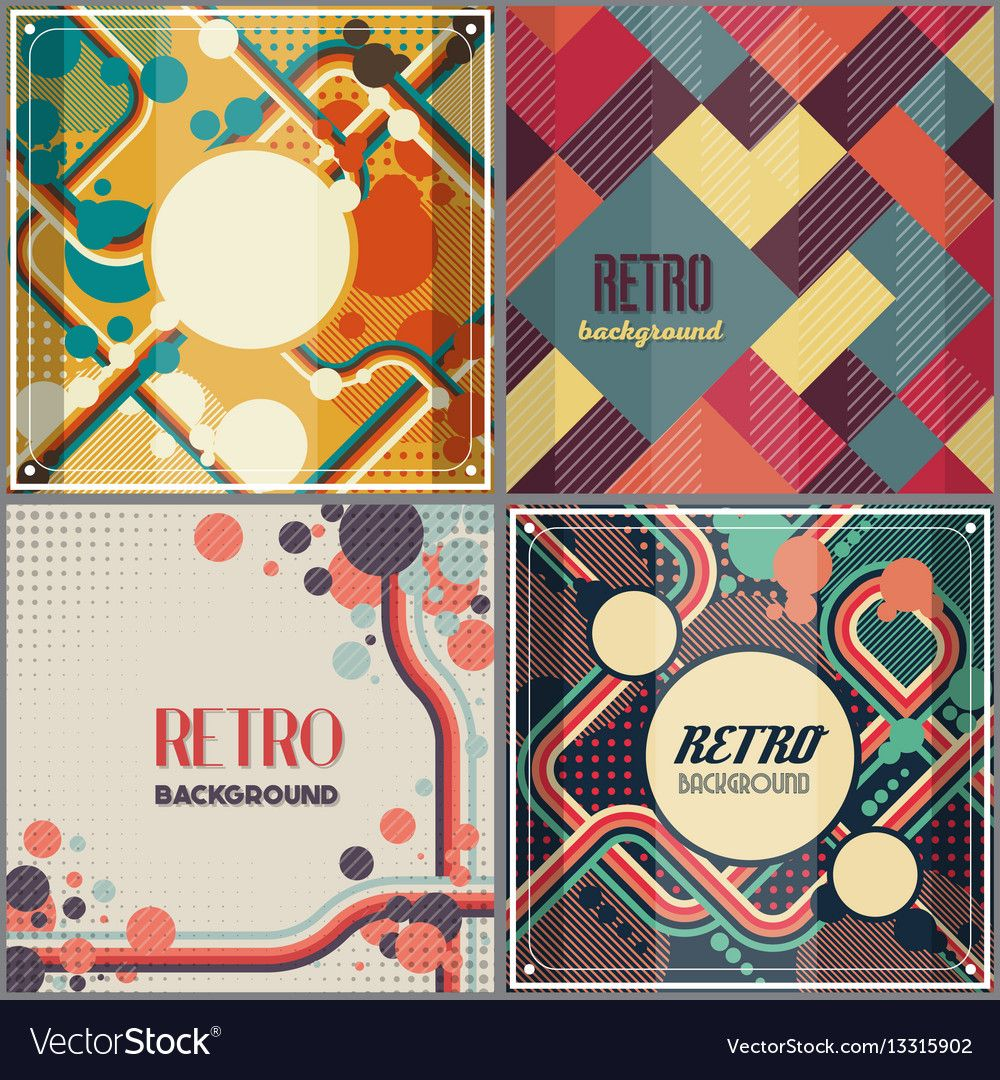 Old Retro Vintage Style Background Design Template Vector Image On Vectorstock In 2020 Background Design Design Template Retro Background