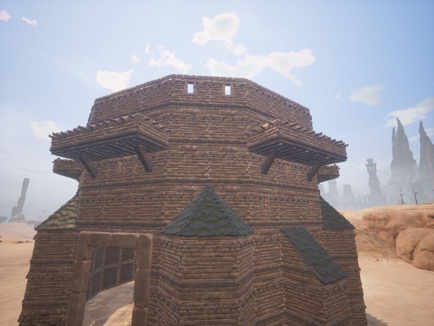 Tutorial Conan Balcony Tower Conan Tower Ark Survival Evolved