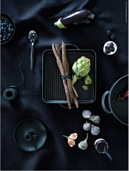 Black Background Let There Be Black Colors Food Photography