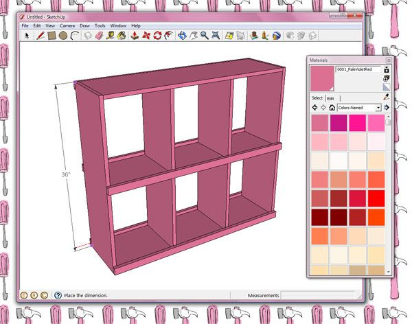 Anna White How Do I Design My Own Plans In Google Sketchup