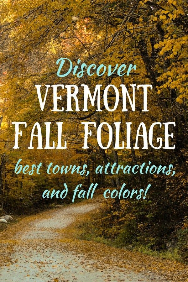 Visiting Vermont in the Fall: Things to See and Do in the Green Mountains