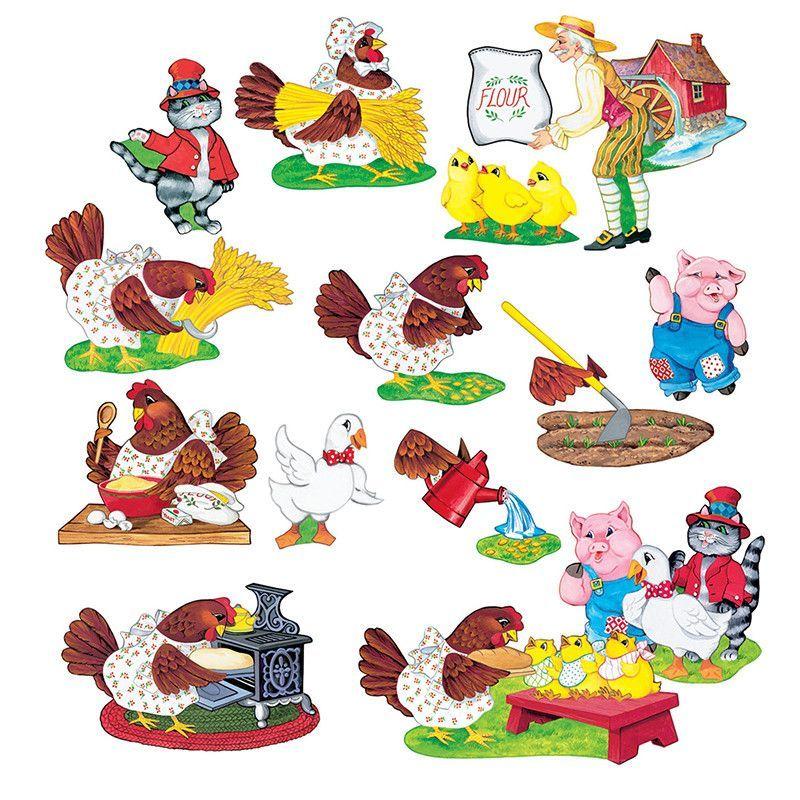 Flannelboards Little Red Hen Little Red Hen Red Hen Little Red