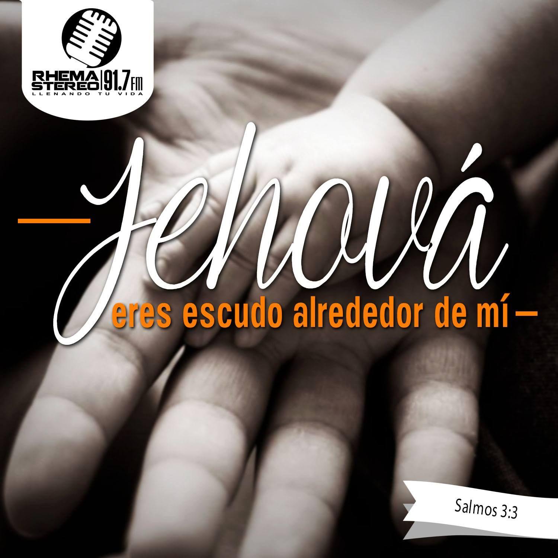 Mas tú, Jehová, eres escudo alrededor de mí; Mi gloria, y el que ...