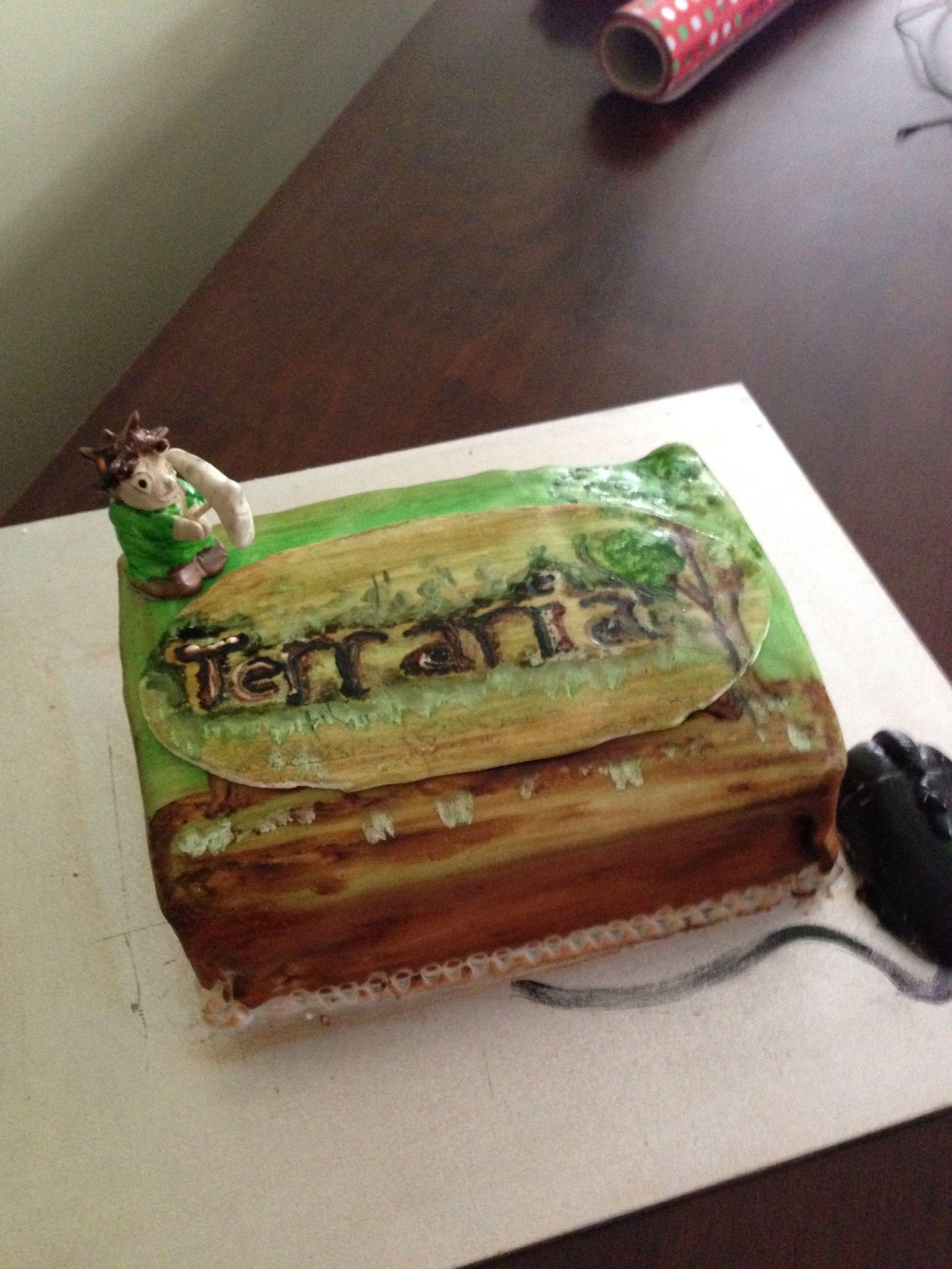 Sam S Birthday Cake Terraria Inspired