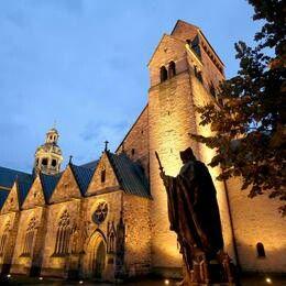 Allemagne Cathédrale Sainte-Marie et église Saint-Michel d'Hildesheim