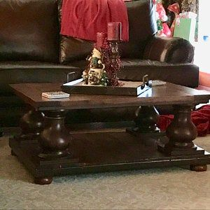 Best Chunky Balustrade Coffee Table Legs Traditional Style 640 x 480