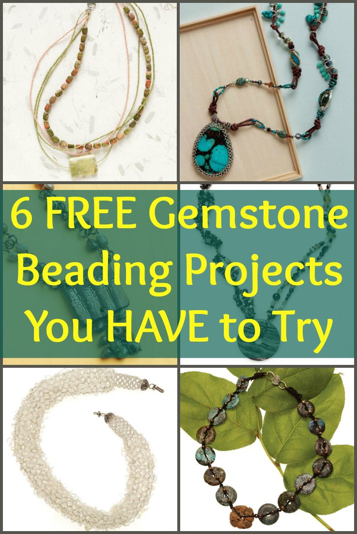 760c5e9835d85 Free Beading Patterns You Have to Try | Gemstone Bead Jewelry ...