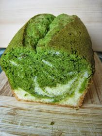 Kazuo: Matcha Marble Pound Cake 抹茶マーブルパウンドケーキ