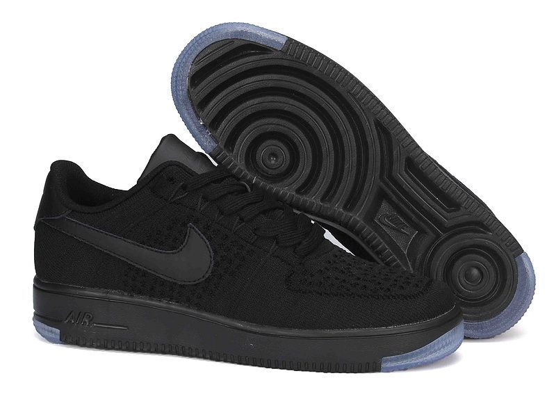 info for 2107c 8afa2 chaussure nike air force one pas cher air force 1 flyknit noir homme