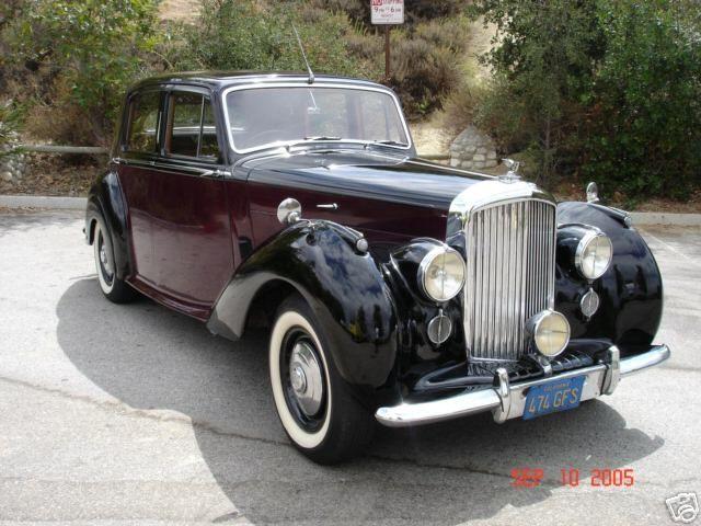 бентли 1950 г