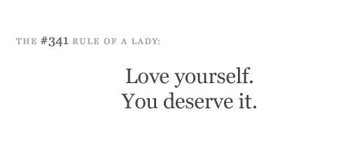 #341 Love yourself.