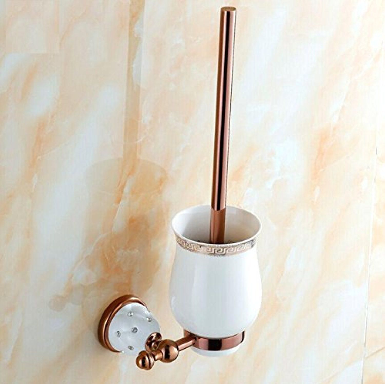 BBSLT-Continental diamond toilet brush set bathroom accessories gold ...