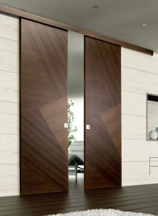 Modern Interior Doors Ideas 14: Pin By M Nasr On Master Bedroom - Barn Door
